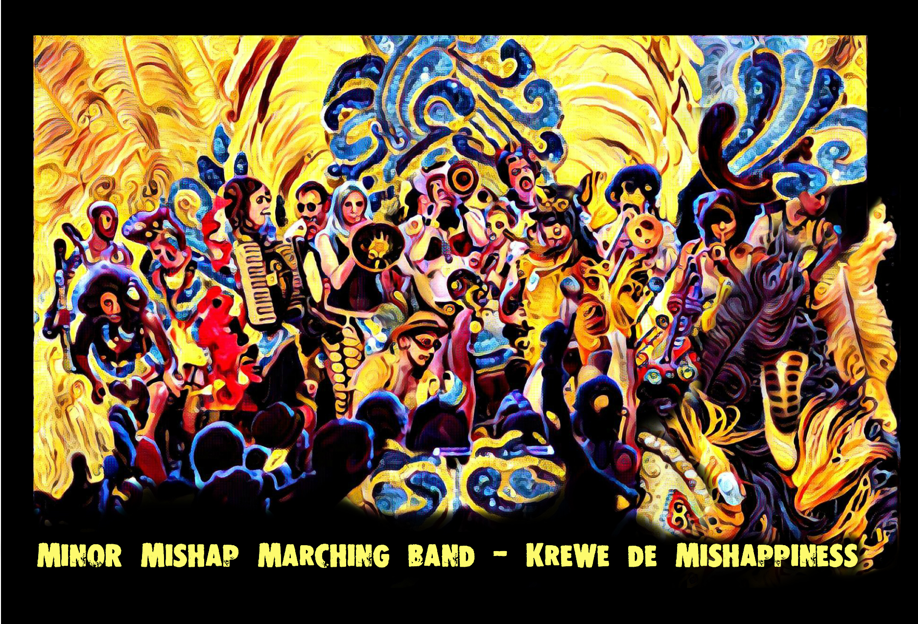 Minor Mishap Marching Band – a 25-piece renegade brass band